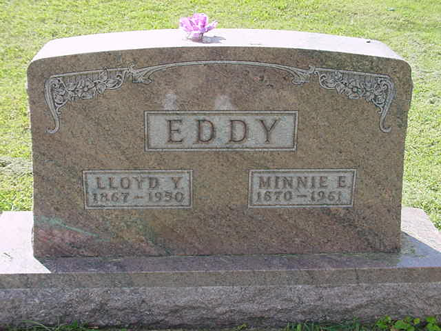 Lloyd & Minnie Eddy