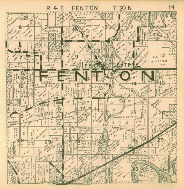 1936 Farm ownership atlas - Fenton