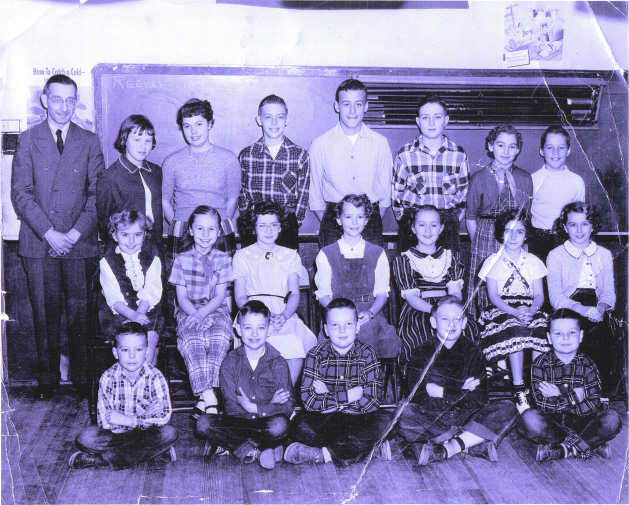 Class of 1954 - Reeves School